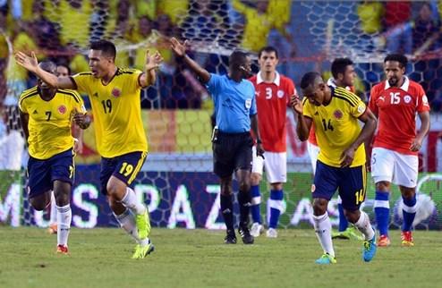 Колумбия пробилась на ЧМ-2014, Эквадор сильнее Уругвая