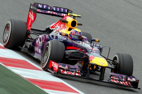 Формула-1. Гран-при Японии. Уэббер выигрывает третью практику, Феттель испытывает проблемы с КЕРС