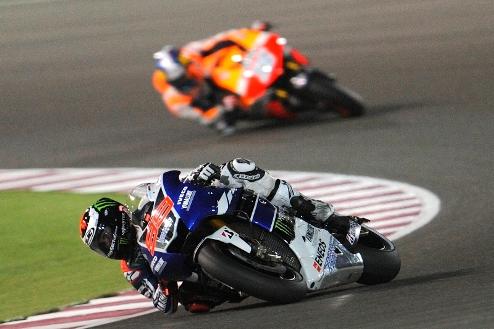 MotoGP. Гран-при Малайзии. Лоренсо выигрывает разогрев