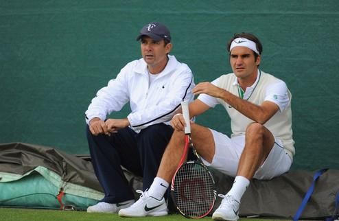 Федерер расстался с тренером