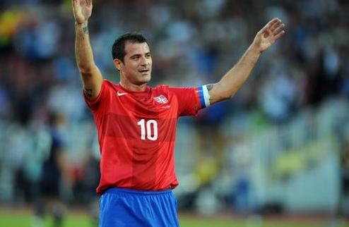 Станкович провел прощальный матч за сборную Сербии