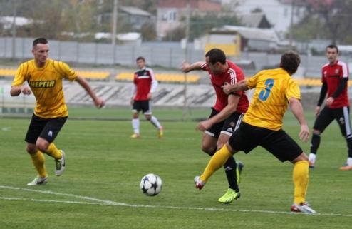 Запорожский Металлург разбил команду второй лиги