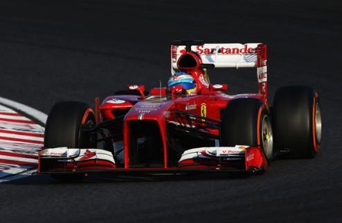Формула-1. Алонсо: проиграли титул из-за летних новинок