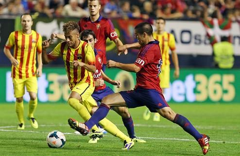 Первая осечка не мешает Барселоне оторваться от Атлетико