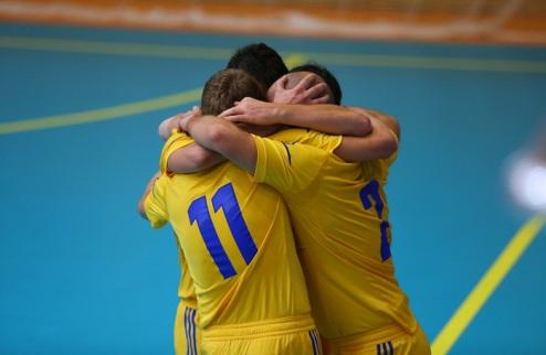Футзал. Украина огласила состав на Италию