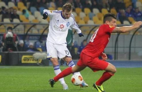 Динамо уверенно переиграло Тун