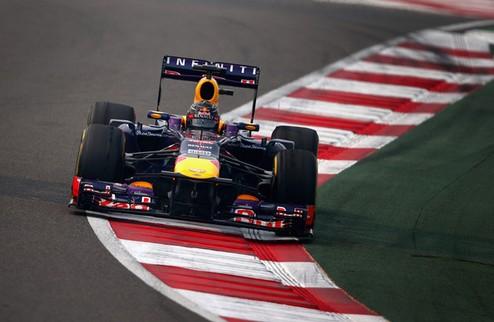 Формула-1. Гран-при Индии. Поул Феттеля, провал Грожана