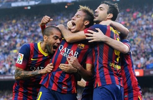 Барселона одолела Реал