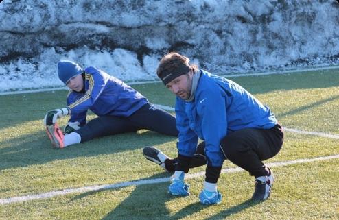 Киевский Арсенал продолжает тренировки