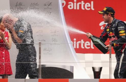 """Формула-1. Ньюи: """"Себастьяна можно считать одним из величайших пилотов всех времен"""""""