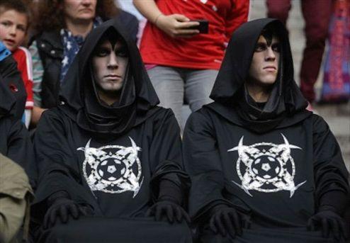 Всадники апокалипсиса пугают европейский футбол. ФОТО