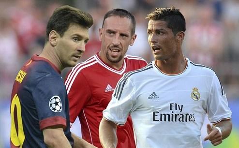 ФИФА назвала номинантов на Золотой мяч