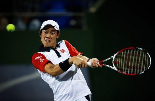 Париж (ATP). Битва Тсонга и Нисикори, напряженная победа Джоковича