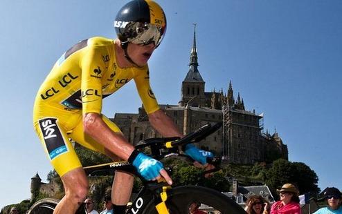 Фрум — лучший велосипедист года