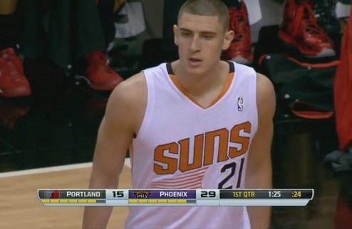 Алексей Лэнь дебютировал в НБА