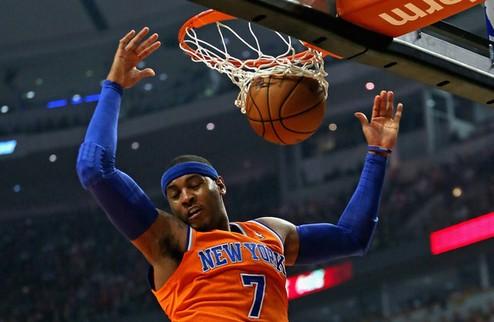 """НБА. Кармело: """"Хочу завершить карьеру в Нью-Йорке"""""""