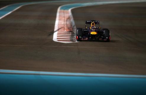 Формула-1. Гран-при Абу-Даби. Феттель выигрывает третью практику