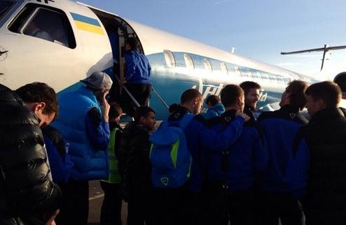 Днепр прибыл в Донецк