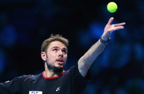 Итоговый турнир ATP. Вавринка обыграл Бердыха, дель Потро — Гаске