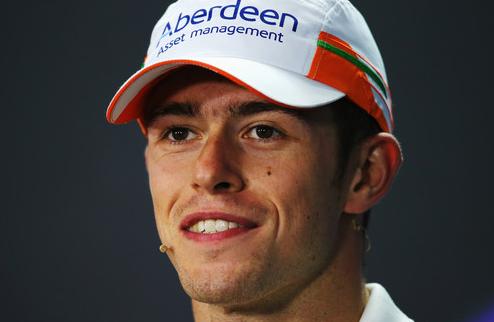 Формула-1. Ди Реста хочет определенности с контрактом на следующий год