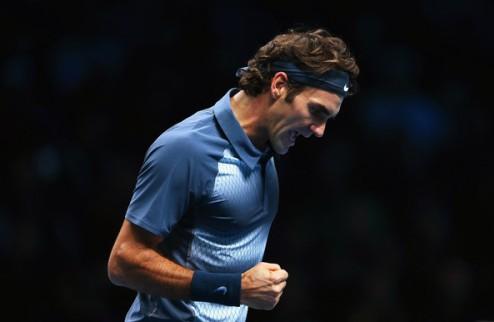 Итоговый турнир АТР. Федерер тряхнул стариной