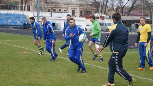 Регби. Сборная Украины начала подготовку к матчу против Чехии