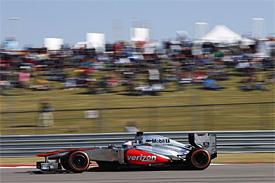 Формула-1. Баттон: минус три позиции на Гран-при США
