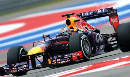 Формула-1. Гран-при США. Феттель на поуле, Ковалайнен в десятке