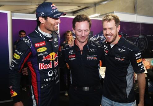 "Формула-1. Уэббер: ""Хочу поздравить Себастьяна"""