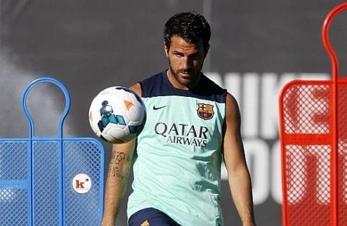Барселона: Сеск вернулся к тренировкам