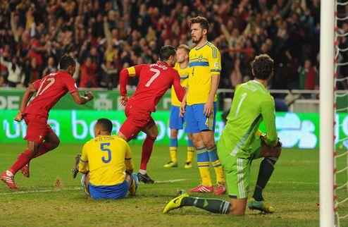 Роналду выводит Португалию на мундиаль