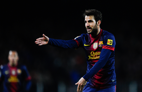 """Фабрегас: """"Хочу завершить карьеру в Барселоне"""""""