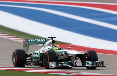 Формула-1. Гран-при Бразилии. Росберг выигрывает первую практику