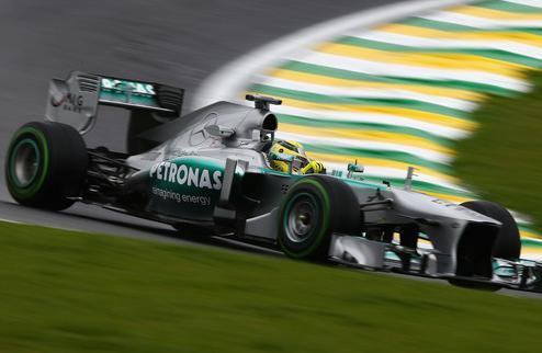 Формула-1. Гран-при Бразилии. Росберг задает темп