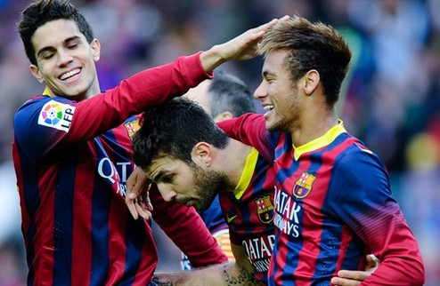Барселона обезвредила Гранаду, Сельта не доВЕЛА до победы