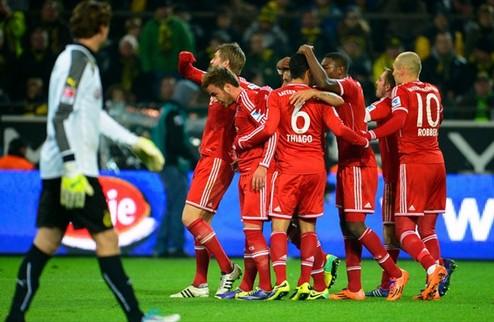 Бавария дала пощечину Дортмунду