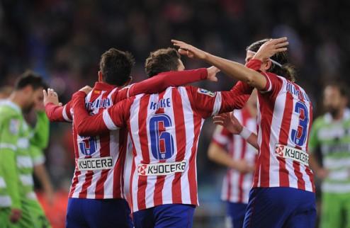 Атлетико побеждает Эльче, Сельта — Альмерию