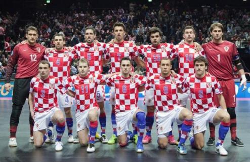 Футзал. Хорватия огласила состав на Украину