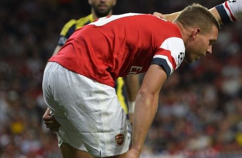 Арсенал: Подольски возвращается