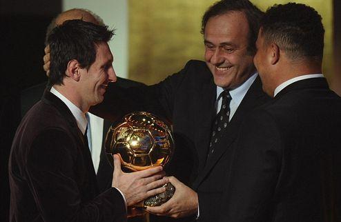 """Платини: """"После ЧМ-2010 ставил на Хави и Иньесту, но Золотой мяч выиграл величайший – Месси"""""""