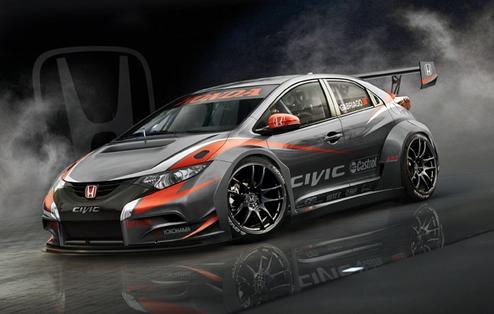 WTCC. Хонда представила новый автомобиль