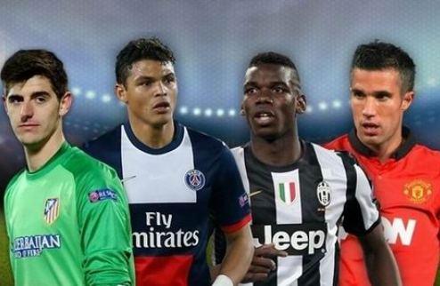 Стартовало голосование за команду года от УЕФА