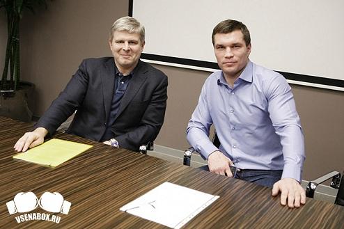 Дрозд стал первым боксёром промоутерской компании Рябинского