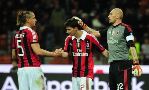 Милан: трио покидает лазарет