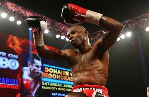 Агбеко побывал на уроке бокса у Ригондо