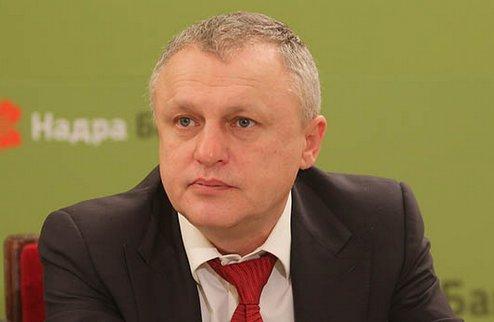 """И.Суркис: """"Хотелось бы заслушать доклад Данилова"""""""
