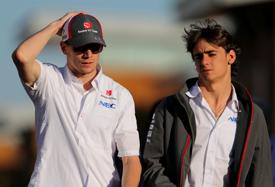 Формула-1. Гутьеррес поддерживает Хюлькенберга