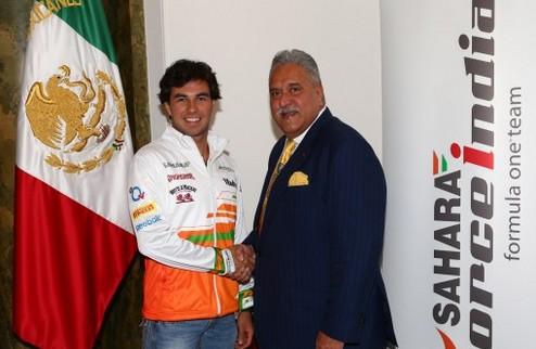 Формула-1. Серхио Перес — пилот Форс Индии
