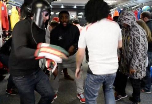Harlem Shake от Коло Туре. ВИДЕО