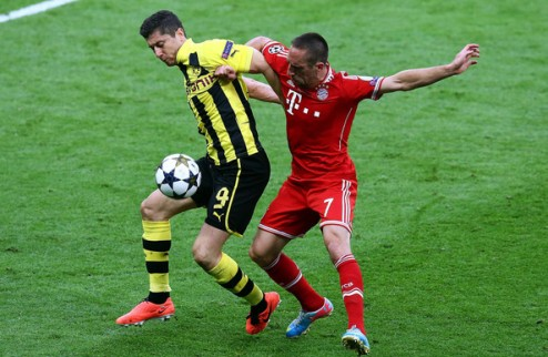 Левандовски: Роналду впечатляет, но Золотой мяч заслужил Рибери